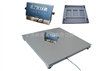 SCS防爆电子地磅,1吨上海电子磅秤,1T电子平台称