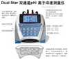 D10P-01 Dual Star 双通道pH/离子浓度测量仪套装