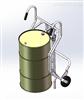镀锌油桶搬运车